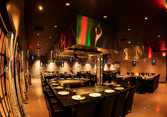 Nikko Hibachi Sushi Lounge Tel - Hibachi table restaurant